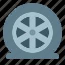 accident, automobile, car, service, tire, wheel icon