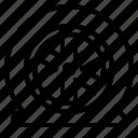 accident, automobile, car, tire, wheel icon