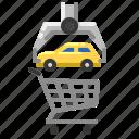car, cart, sale, shopping