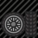 transport, tire, car, vehicle, wheel
