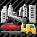 car, service, tow, truck