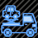 auto, crane, service, transport, vehicle