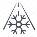 frost, frost warning, warning icon