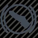 brake, pedal, press, press brake pedal icon