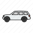 auto, automobile, car, land rover, transport