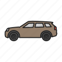 auto, automobile, car, land rover, transport icon