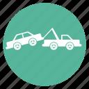 car, crane, evacuator, service, tow truck icon