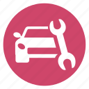 car, car repair, car service, repair, service icon