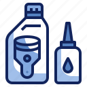 engine, fluid, grease, liquid, lubricant, oil icon