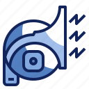 beep, car, horn, noise, sound, vehicle icon
