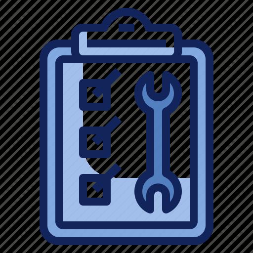 checklist, clipboard, document, report, service, survey icon