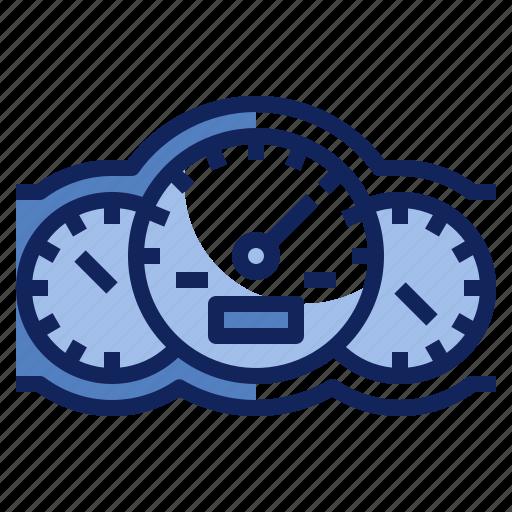 dash, dashboard, gauge, speedometor icon