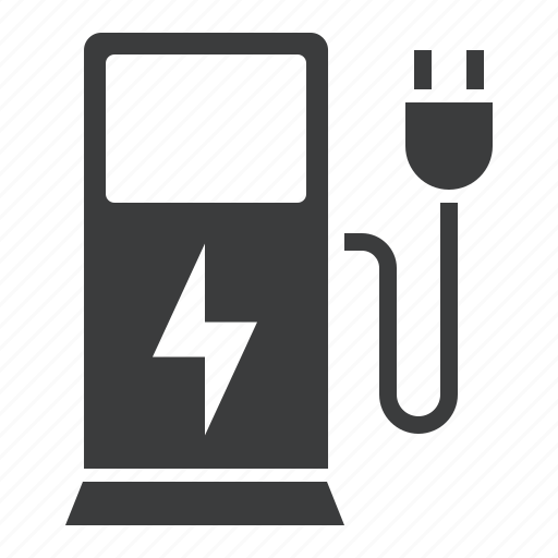 battery, car, charge, charging, ecology, electric, environment icon