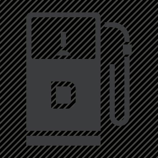 Car, diesel, filling, fuel, gas, gasoline, station icon - Download on Iconfinder
