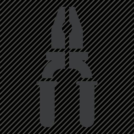 garage, mechanic, plier, repair, service, tool icon