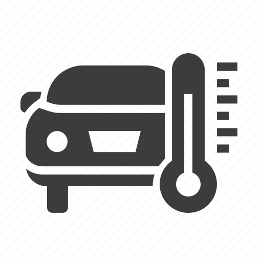 Car, engine, maintenance, service, temperature, thermometer icon - Download on Iconfinder