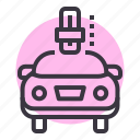 automatic, car, gear, mode, shift, transmission icon