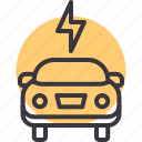battery, car, charge, electric, energy, maintenance, service icon