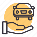 car, care, insurance, maintenance, repair, service, support icon