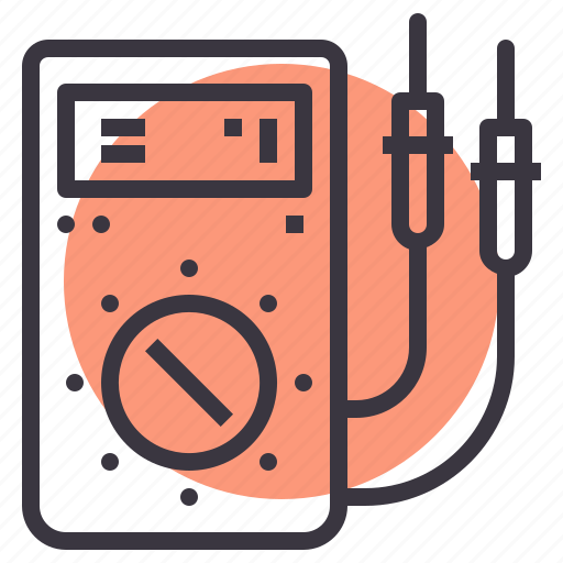 battery, check, device, electrical, measure, reading, test icon
