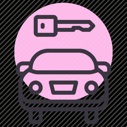Car, dealer, key, lock, owner, start icon - Download on Iconfinder