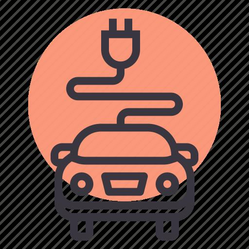 automobile, car, charge, charging, electric, plug, tesla icon