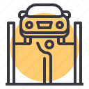 fix, garage, maintenance, mechanic, repair, service, workshop icon