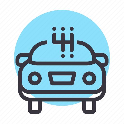 Car, gear, manual, shift, stick, transmission icon - Download on Iconfinder