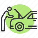 car, garage, maintenance, mechanic, repair, service icon