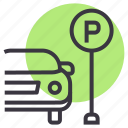 car, parking, zone, space, park, lot