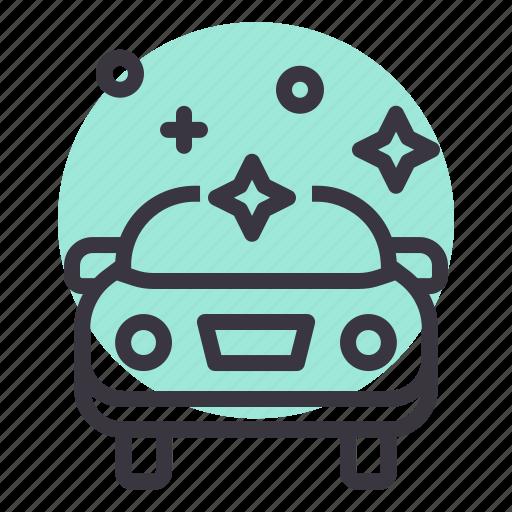 car, clean, maintenance, polish, repair, service icon
