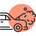 breakdown, car, heat, maintenance, radiator, repair icon