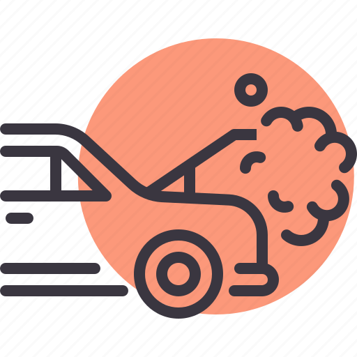 breakdown, car, heat, maintenance, radiator, repair icon