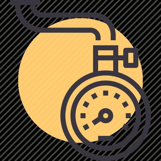 air, measure, meter, pressure, scale, tire, tyre icon