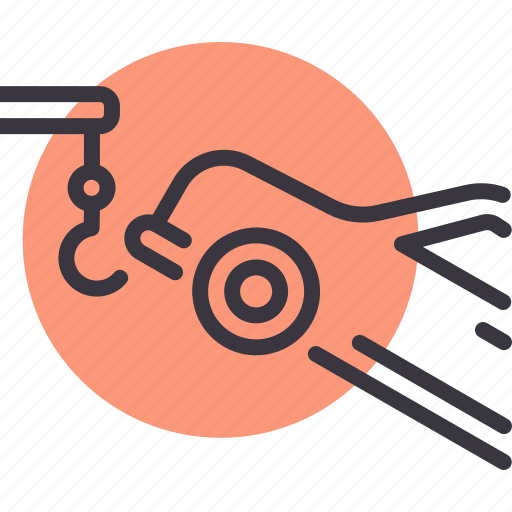 car, garage, service, tow, vehicle icon