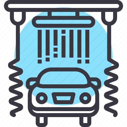 car, clean, garage, maintenance, service, wash icon