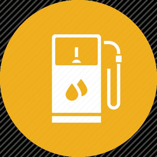Petrol, diesel, gas, filling, station, fuel, gasoline icon
