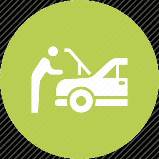 Car, garage, maintenance, mechanic, repair, service icon - Download on Iconfinder