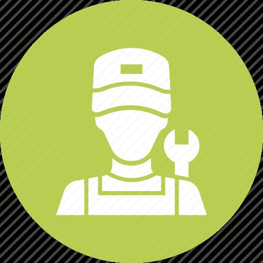 Car, expert, garage, mechanic, plumber, service, avatar icon - Download on Iconfinder