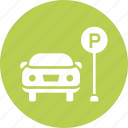 car, lot, park, parking, space, zone icon
