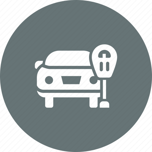Car, parking, ticket, zone, lot, park icon - Download on Iconfinder