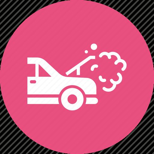 Breakdown, car, heat, radiator, repair icon - Download on Iconfinder