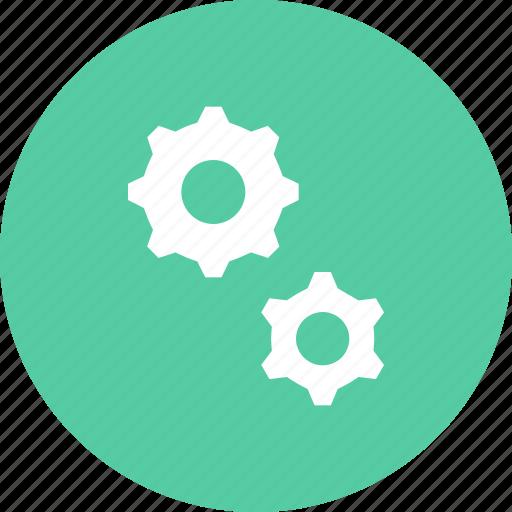 cog, cogwheel, gear, mechanic, mechanical, settings icon