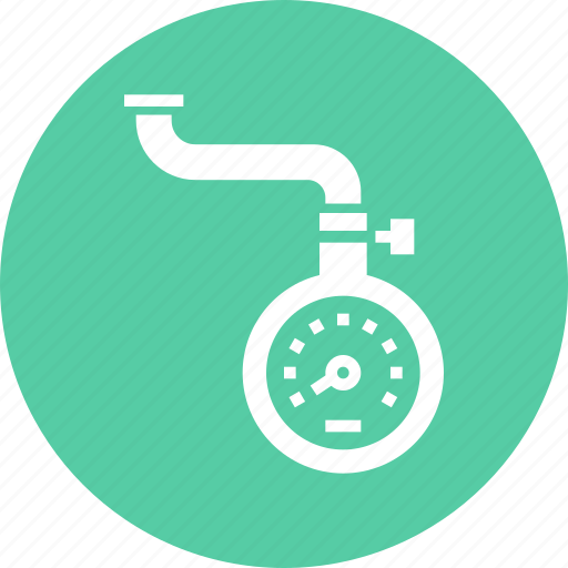 Air, device, meter, pressure, scale, tire, tyre icon - Download on Iconfinder