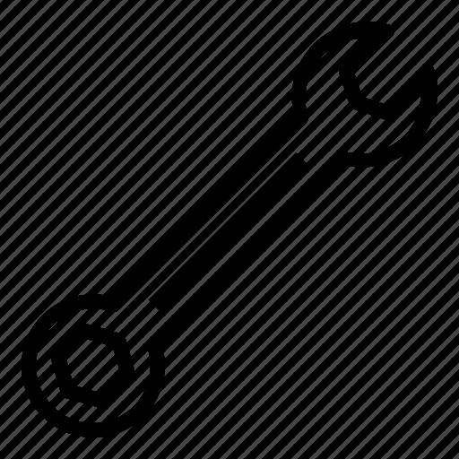 mechanic, mechanical, plumbing, repair, spanner, tool icon
