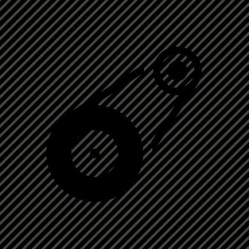 auto parts, automotive, belt, engine, flywheel, timing belt icon