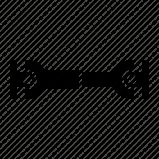 car, drive, join, shaft, u, universal icon