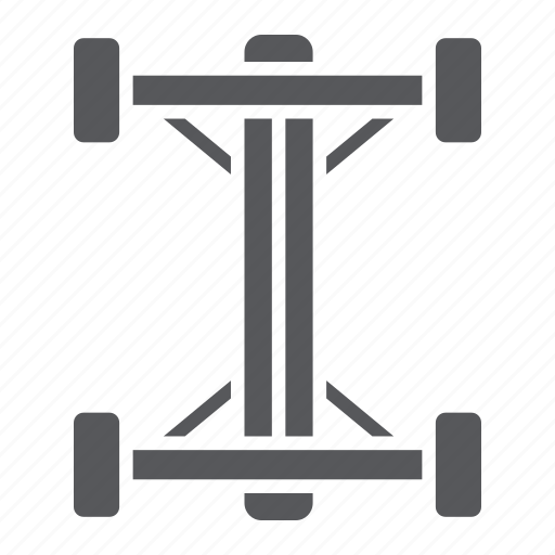 auto, car, chassis, part, shaft icon