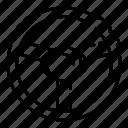 car, logo, silhouette, sport, steering, style, wheel icon