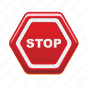 stop, road, sign, traffic, warning